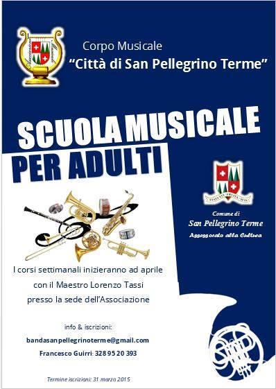 scuola musicale adulti san pellegrino terme